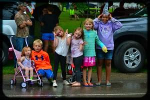 Kids at parade